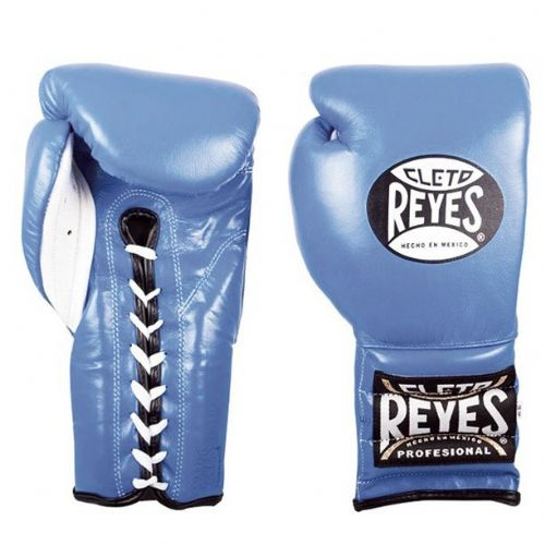 Cleto Reyes Lace Sparring Gloves - Blue